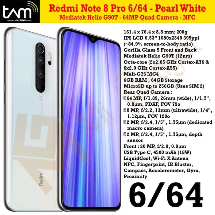 redmi note 8 pro 6-64-pearl-white