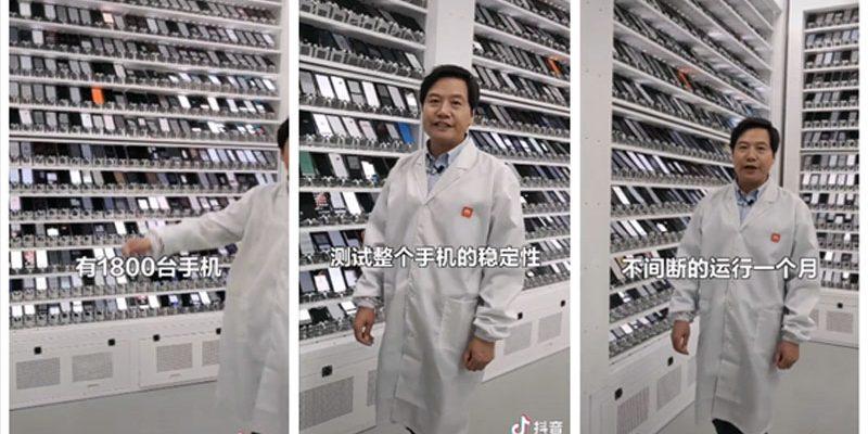 Pendiri dan CEO Xiaomi