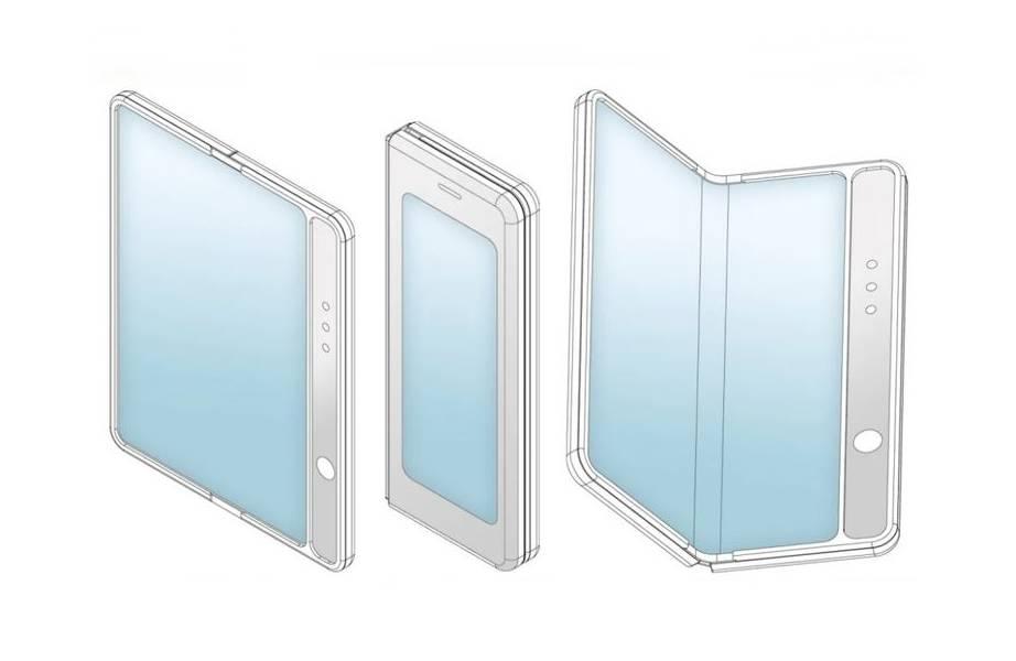 Desain Ponsel Layar Lipat Xiaomi