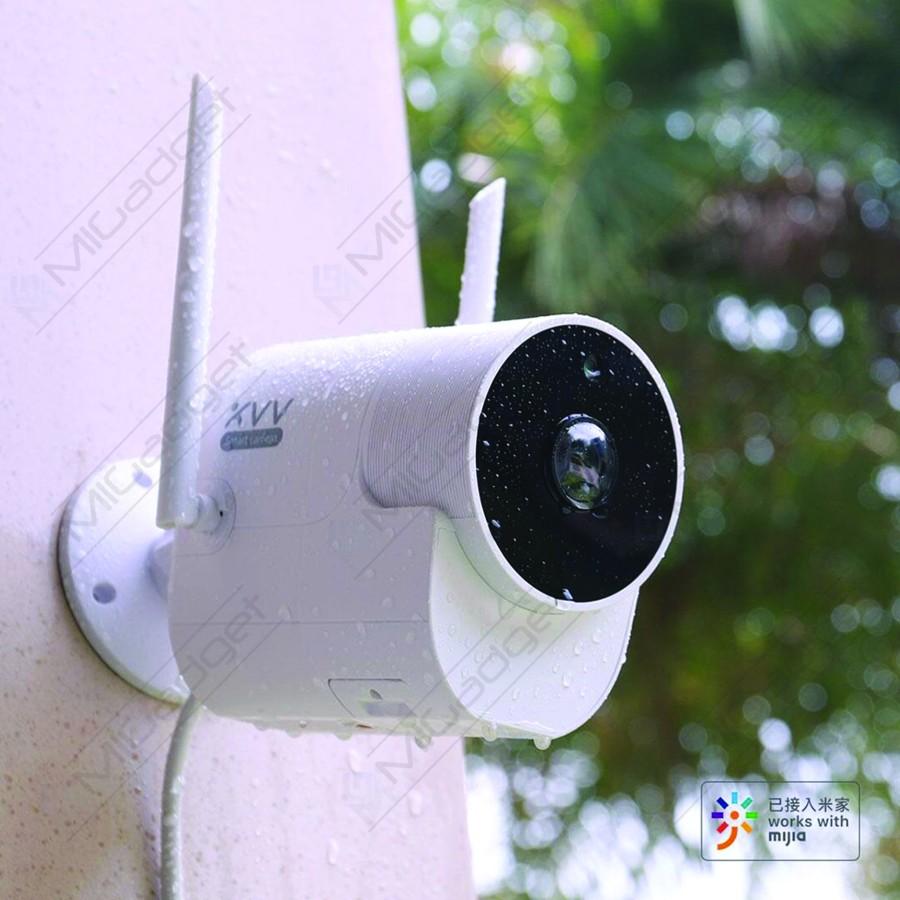 Xiaovv Kamera CCTV Outdoor Night Vision kolase 4