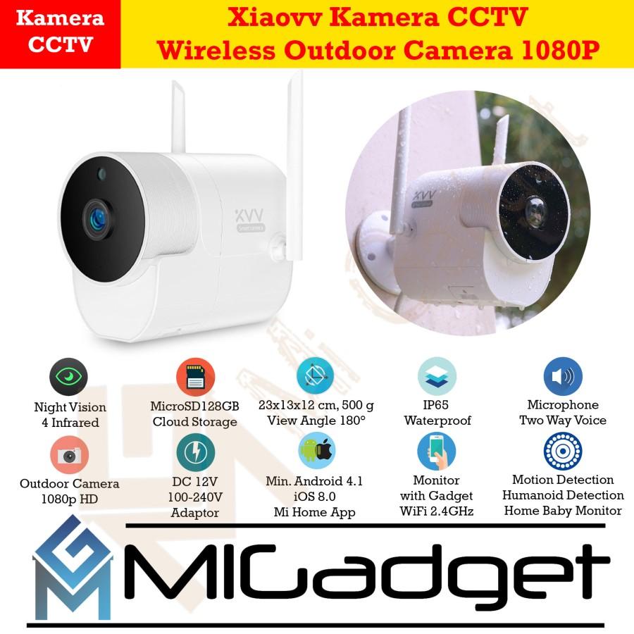 Xiaovv Kamera CCTV Outdoor Night Vision