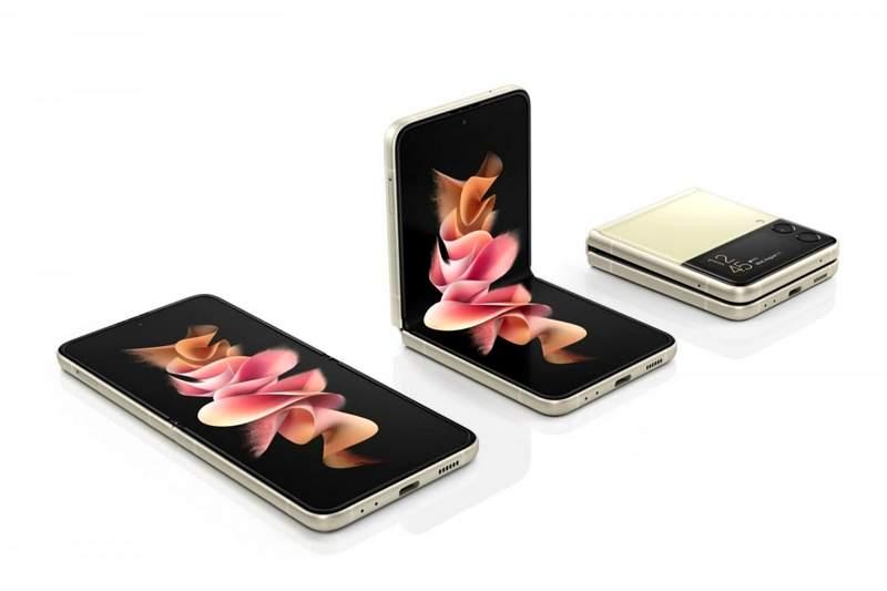 Samsung Galaxy Z Flip 3 Android 12